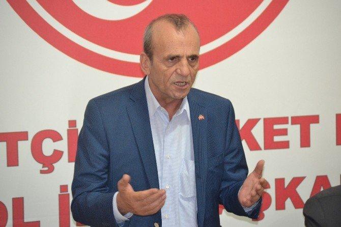 Topçu, Bursa'da suçların artmasına ilişkin çok sayıda şikayet aldıklarını dile getirdi.