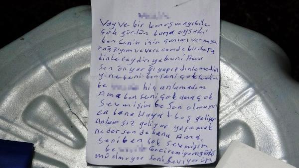 NOT BIRAKIP CAMİDE KENDİNİ ASTI